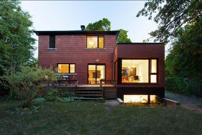 APPAREIL architecture modernizes a modest Post-War house into a spacious residence