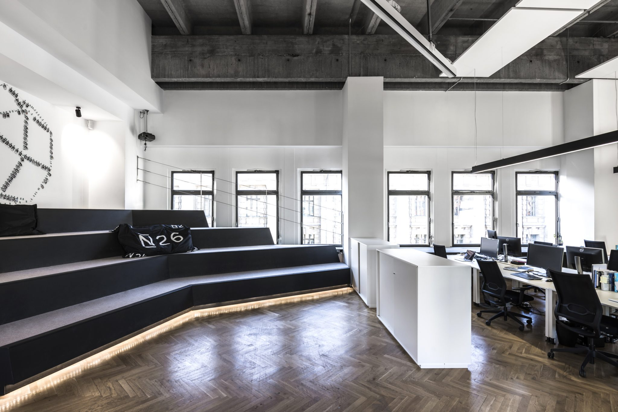 n26 office hq in berlin by tkez architecture your no 1. Black Bedroom Furniture Sets. Home Design Ideas