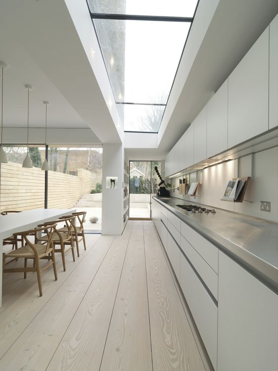 spacious kitchen with huge windows Dream kitchens   a collection of 35 most beautiful kitchens
