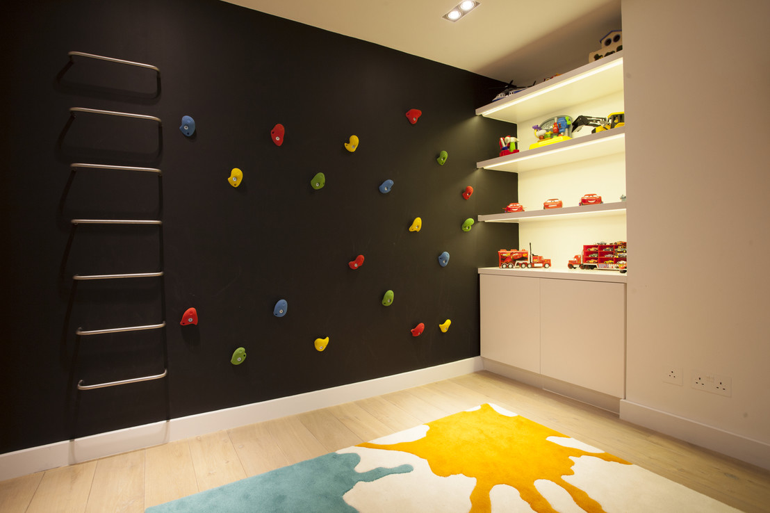 Cimbing Wall At Home 1024x682 22 Awesome Rock Climbing Wall Ideas For Your  Home