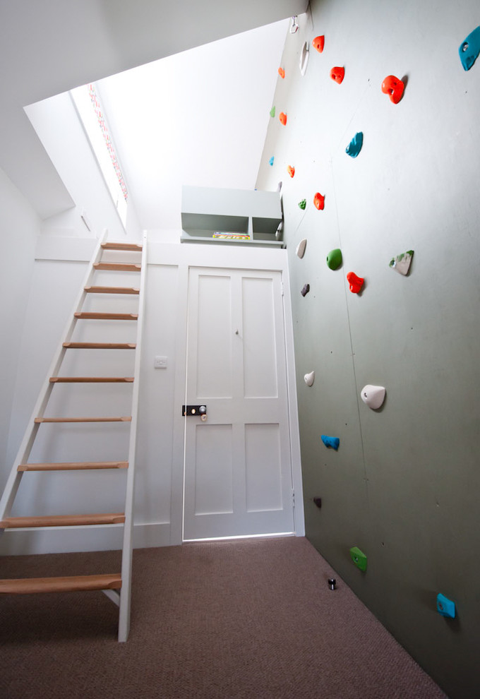 diy movable wall home gym 22 Awesome Rock Climbing Wall Ideas For Your Home