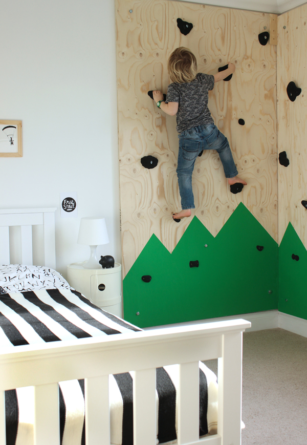 indoor climbing wall 22 Awesome Rock Climbing Wall Ideas For Your Home