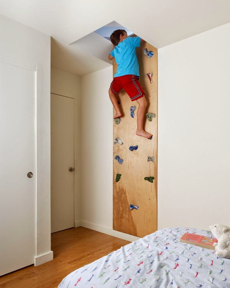 22 awesome rock climbing wall ideas for your home your for Cool things to buy for your house