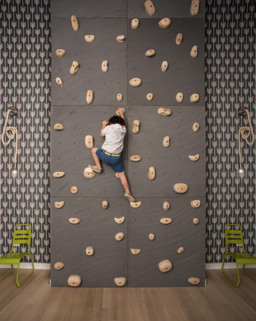 %name 22 Awesome Rock Climbing Wall Ideas For Your Home
