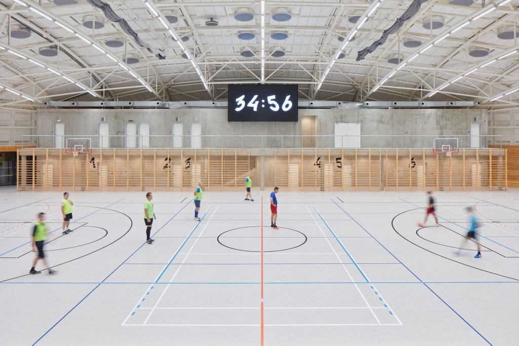 sporadical sportovni hala dolni bezany boysplaynice 29 1024x683 Dolní Břežany Sports Hall by SPORADICAL architects