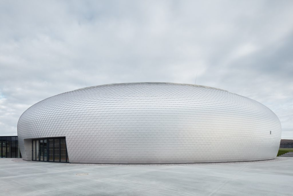Dolní Břežany Sports Hall by SPORADICAL architects
