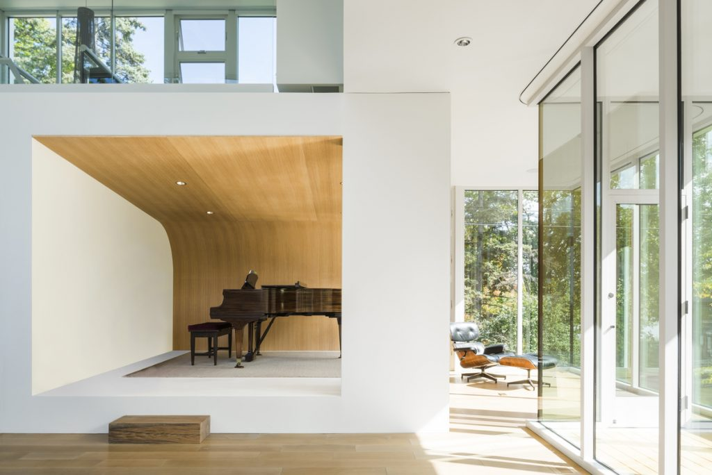 22905 recital space 1024x684 The Stack House By Lazor Office