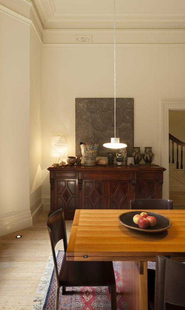 30771 diningstair 613x1024 Queen Bess House by ZGA Studio