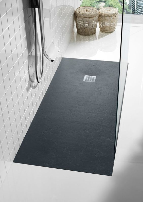 anti slip rectangular showe tray Disabled Bathroom: What are Your Options?