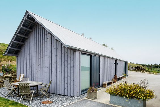 contemporary barn style self build timber cladding Taking on the Challenge of Building Your Own Home