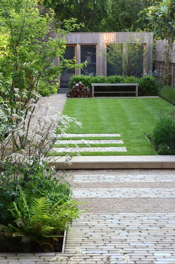 contemporary garden landscaping Exterior perfection   how to make the perfect garden space