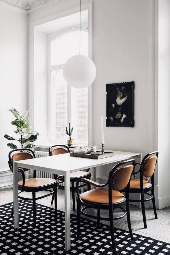 modern dining room How to Give Your Home a Modern Feel