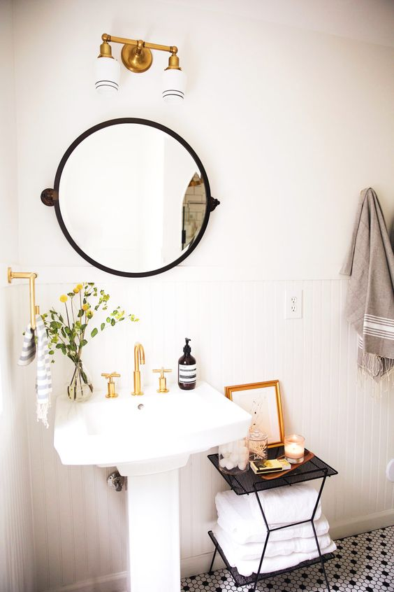 small touches How to Transform Your Bathroom into a Sanctuary
