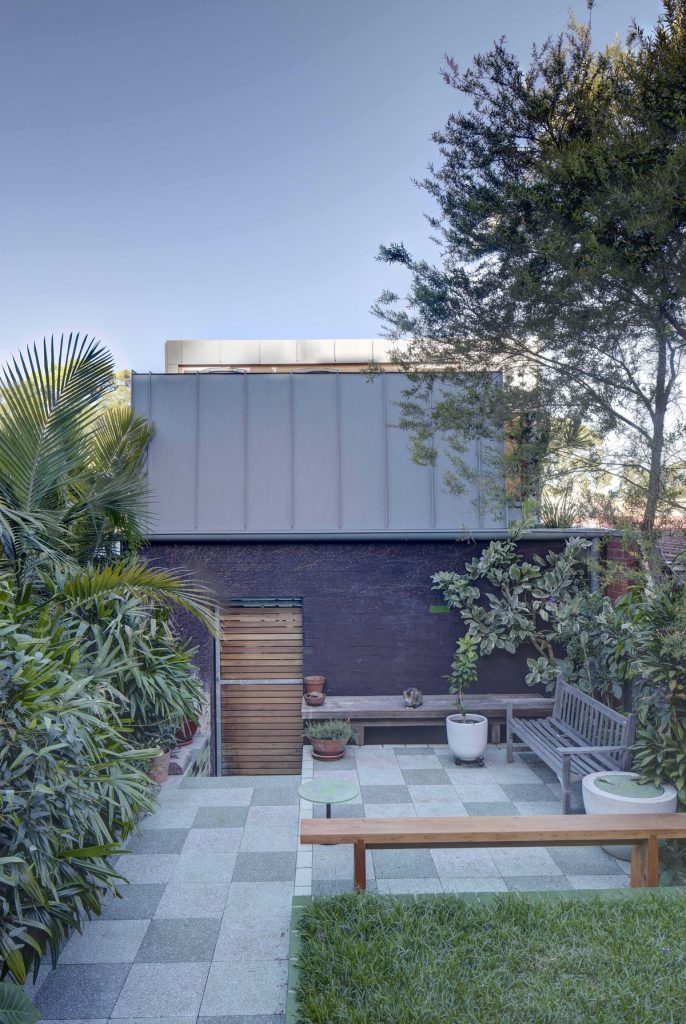 32730 courtyardview 686x1024 Laneway Studio Renovation by Architect Peter McGregor