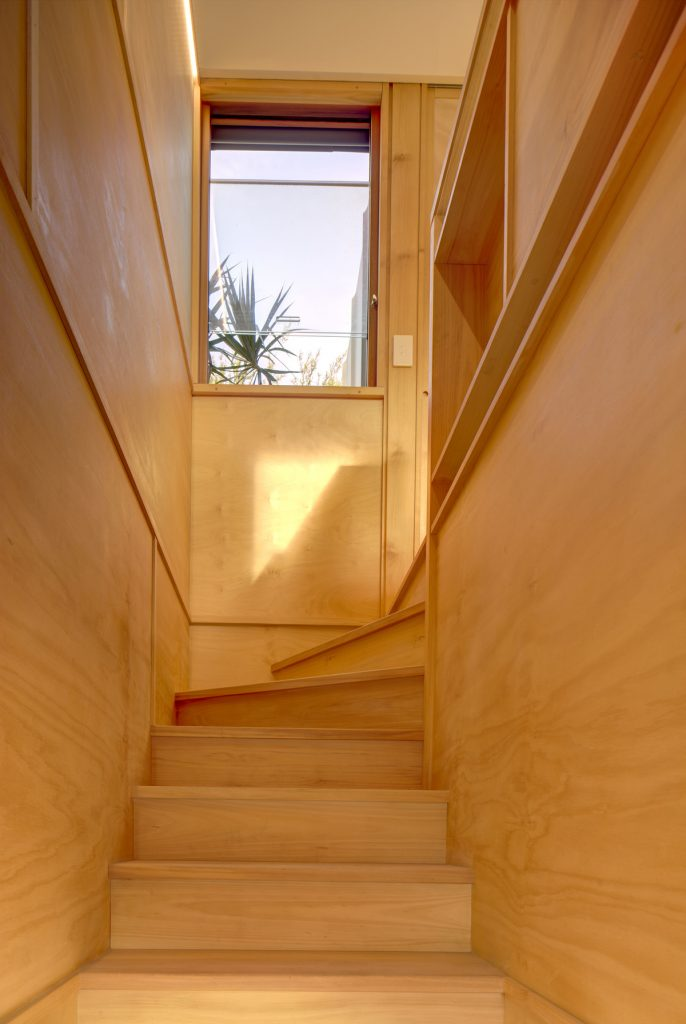 32731 viewupthestairs 686x1024 Laneway Studio Renovation by Architect Peter McGregor