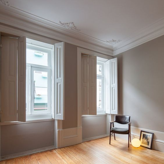 awesome interior with window shutters Windows Shutters: Why Are They So Popular With Designers In The UK?