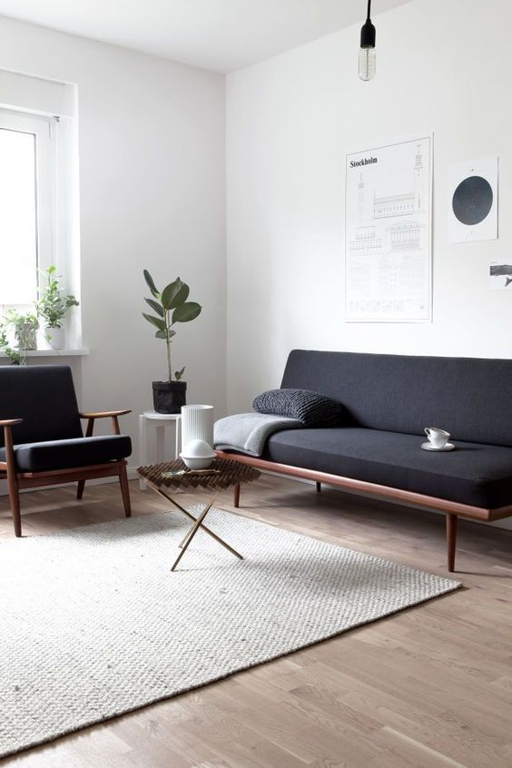 minimal interior design inspiration Putting Together the Pieces