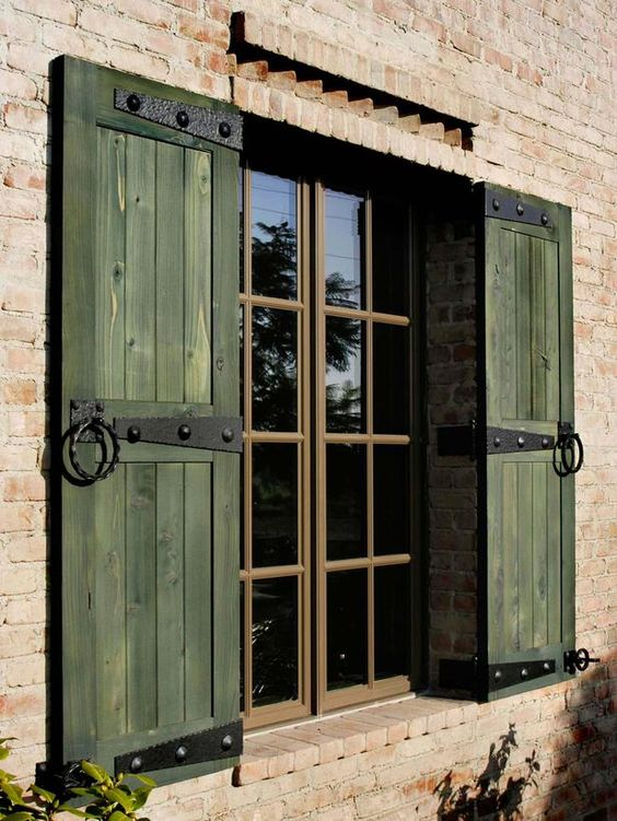window shutters Windows Shutters: Why Are They So Popular With Designers In The UK?