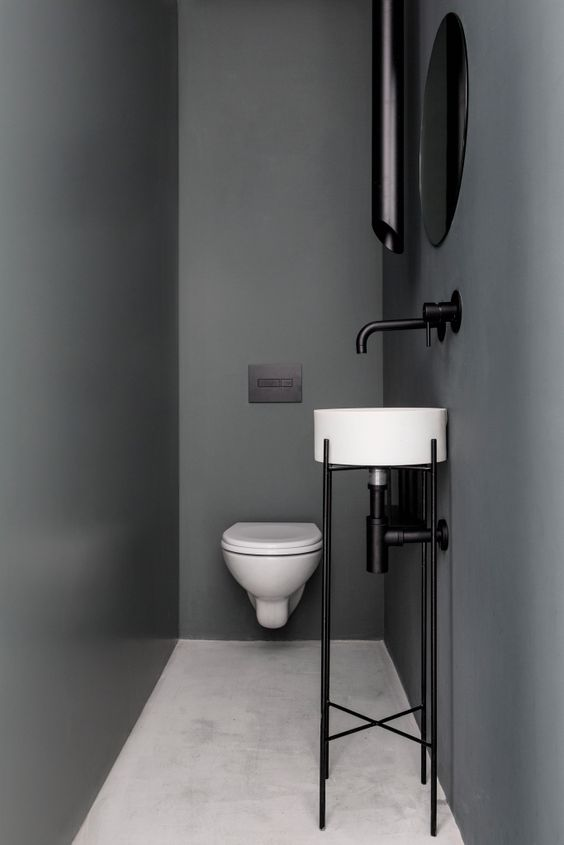 small black bathroom Tiny Room Ideas: Discover These 5 Ways How To Improve The Small Space