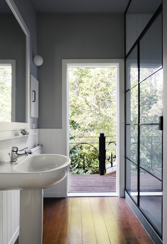 bathroom 703x1024 1920s Melbourne Home Renovation By Drawing Room Architecture