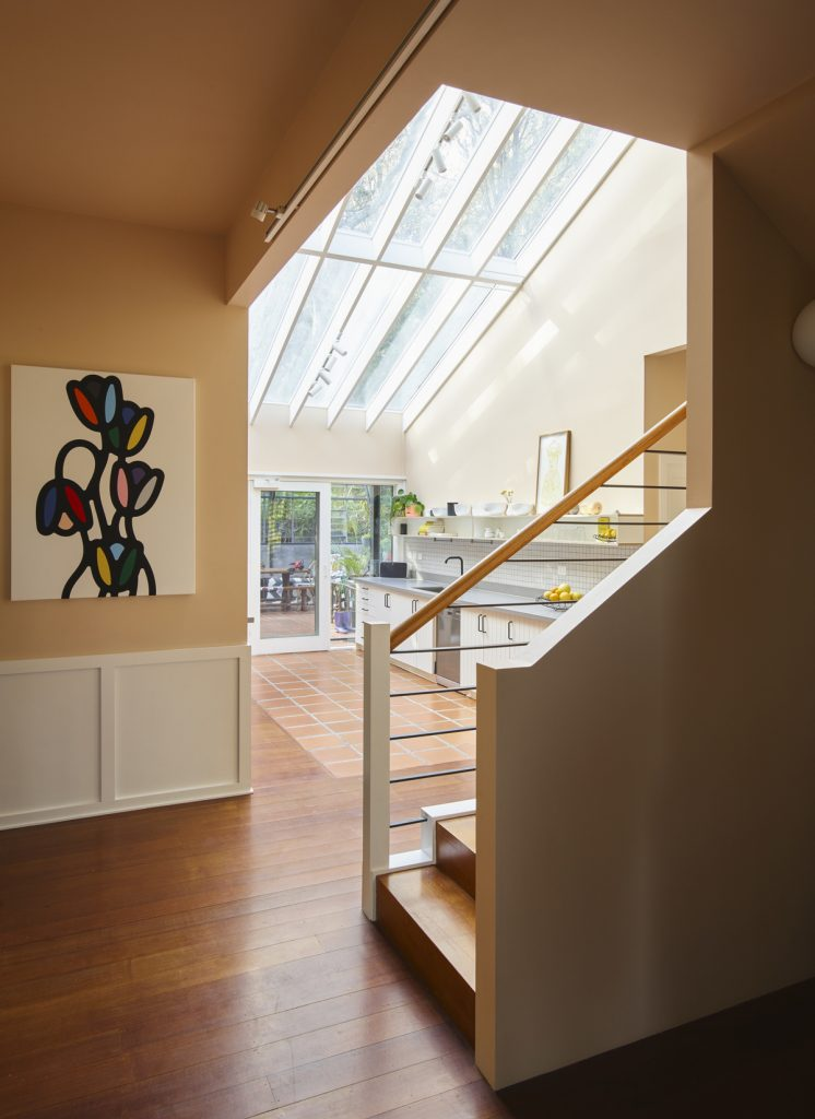 central stair 746x1024 1920s Melbourne Home Renovation By Drawing Room Architecture