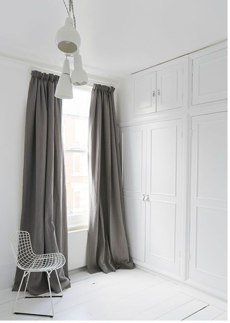 blackout curtains Bedroom Improvements On A Budget