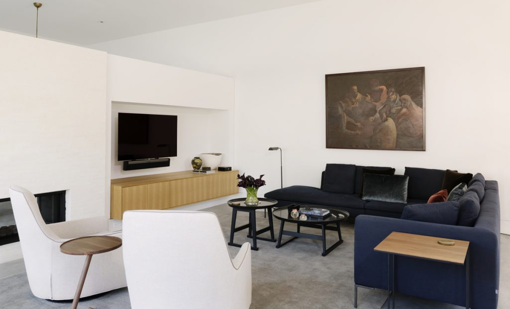 living room 2 1024x620 Family Headquarters by Viviano Viviano architecture