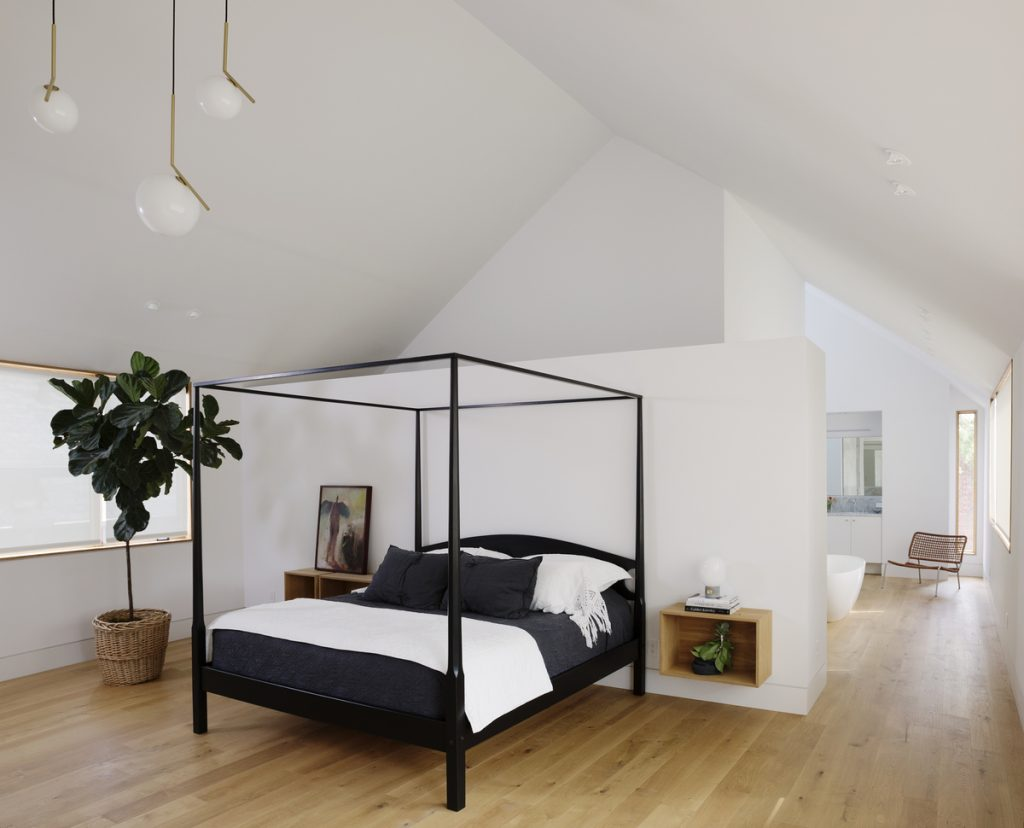 master bedroom 1024x828 Family Headquarters by Viviano Viviano architecture