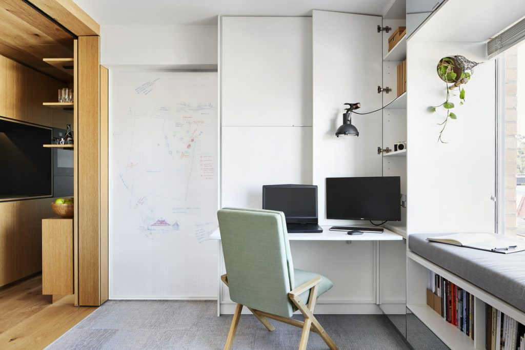 12 1 1024x683 Tiny Studio Apartment Renovation By Tsai Design