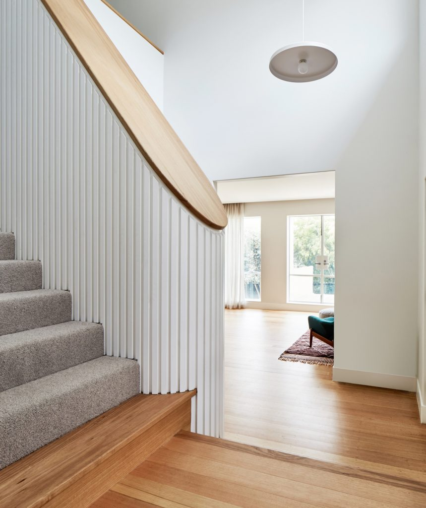 26911 entrystairs 859x1024 Holroyd   A Renovation By Foomann Architects