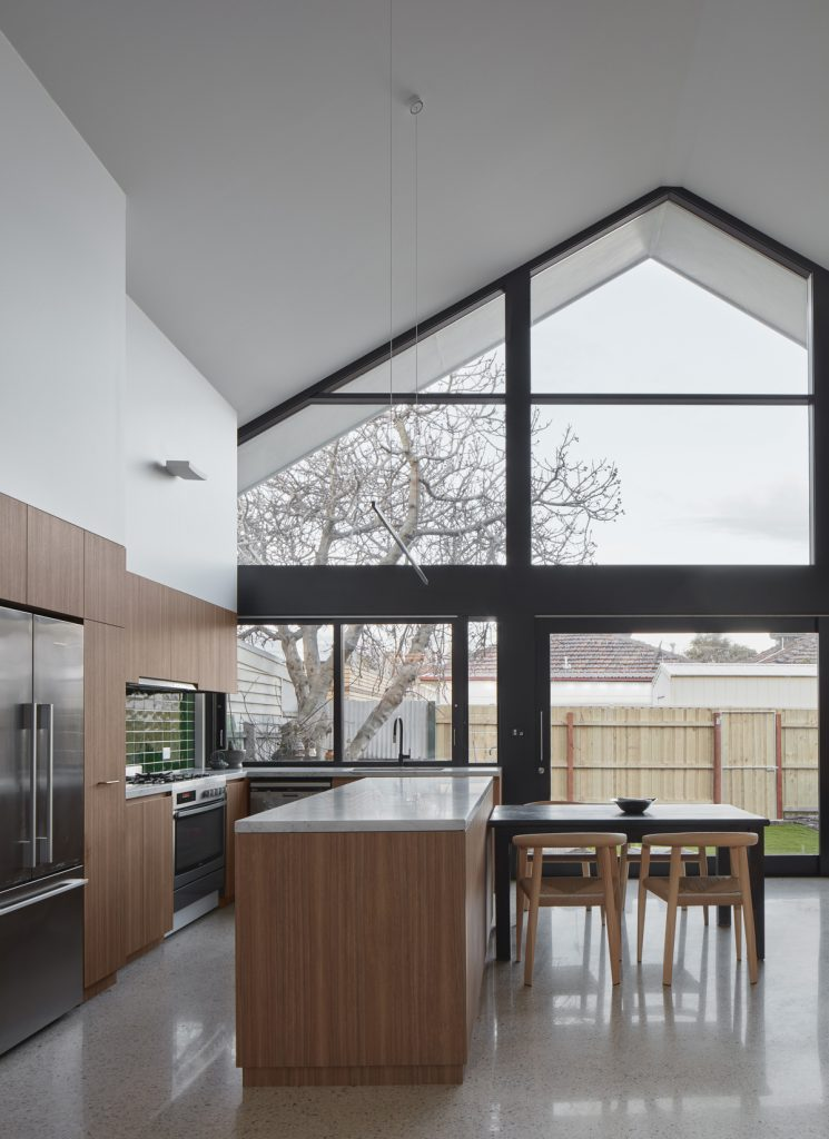6 kitchen dining 745x1024 A 1990s Federation Cottage Renovation By RK D Studio