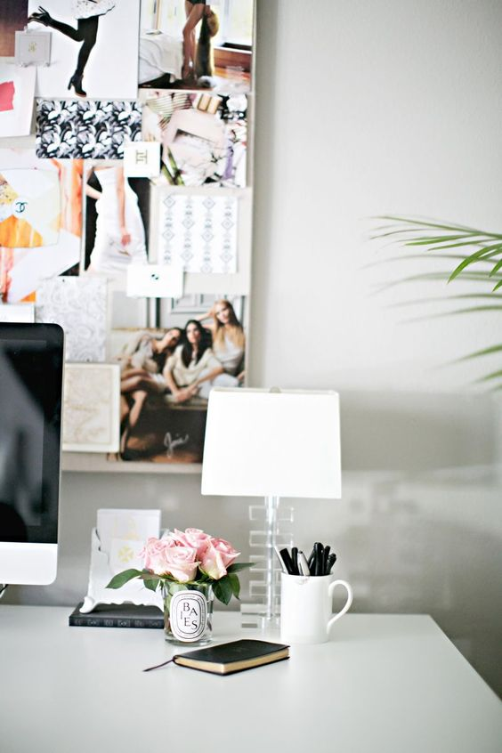 beautiful home workspace How To Create A More Productive Home Office Environment