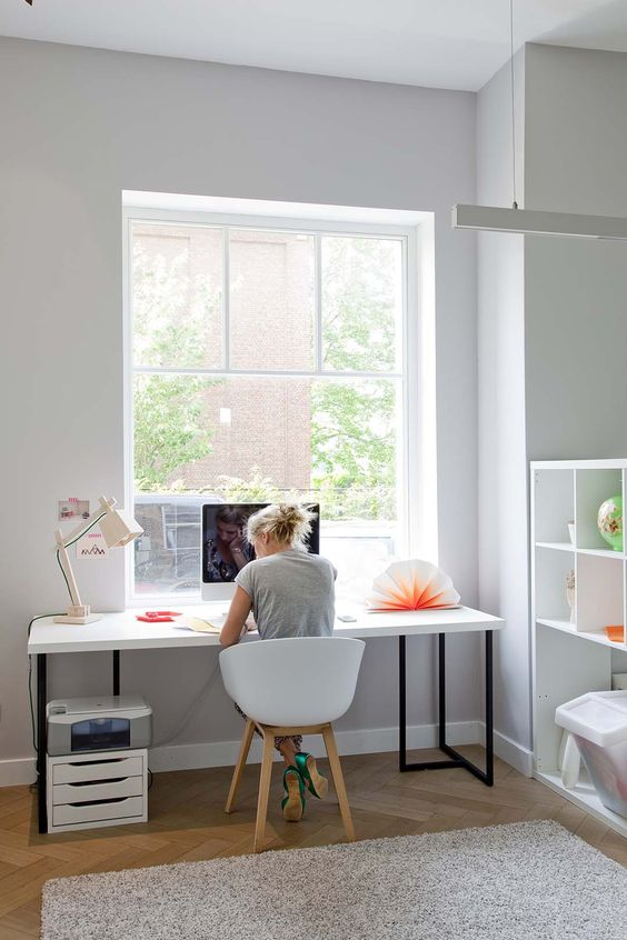 How To Create A More Productive Home Office Environment