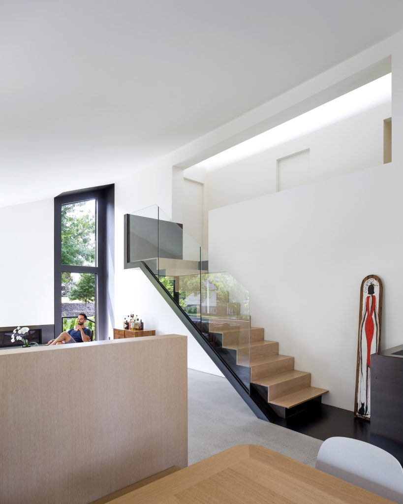 split level renovation 13 819x1024 Split level house renovation by DArcy Jones Architects