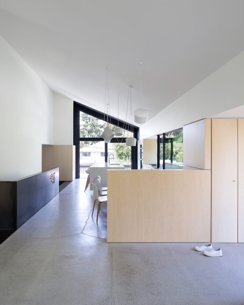 split level renovation 4 819x1024 Split level house renovation by DArcy Jones Architects