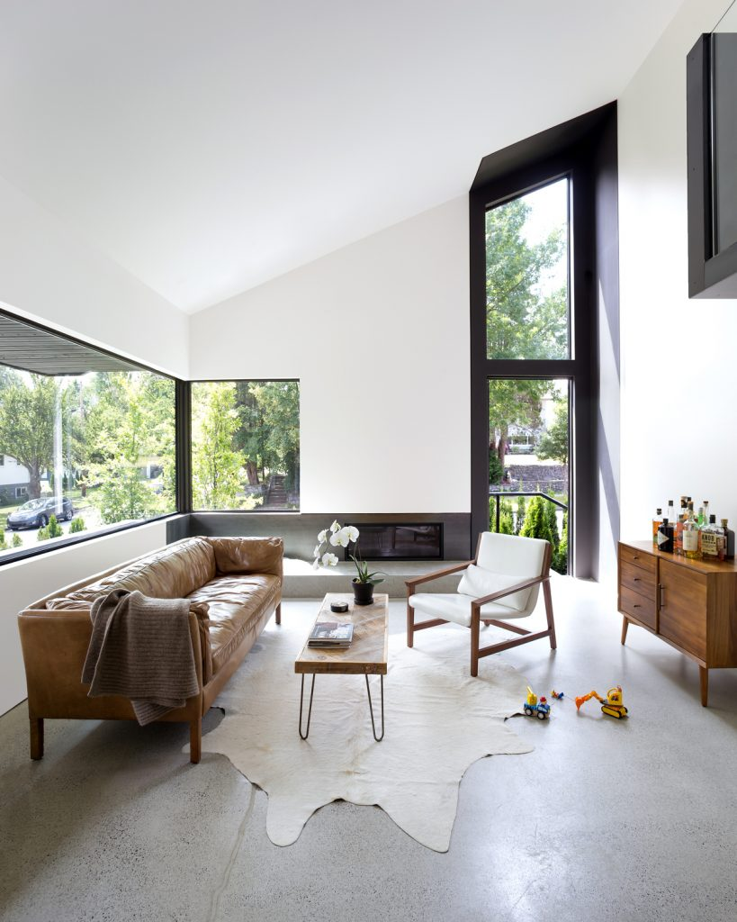 split level renovation 9 819x1024 Split level house renovation by DArcy Jones Architects