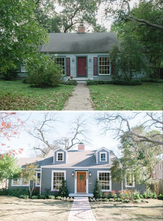 the baby blue house Three Tips For Moving To A Fixer Upper