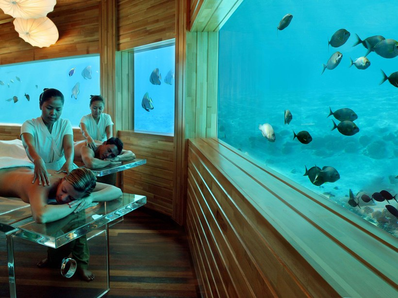 underwater spa Unusual Interior Designs To Take Inspiration From