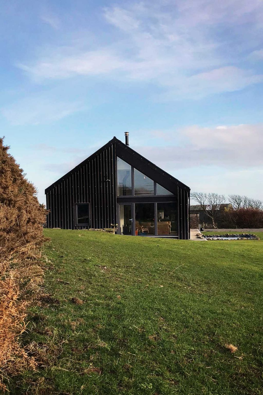 Black Cottage – a contemporary and low energy home by 2020 Architects