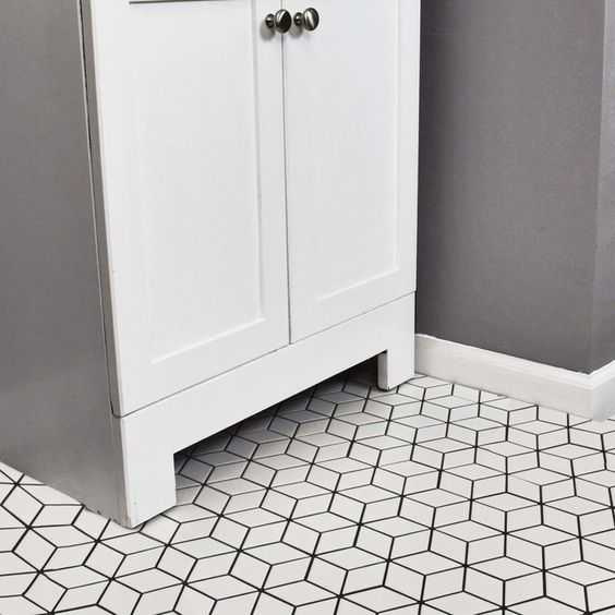 retro rhombus porcelain mosaic tiles Things You Should Know About Porcelain Tiles