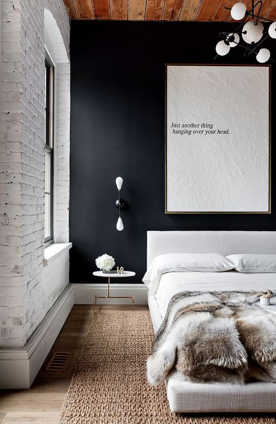 dark accent wall Statement Pieces: Home Decor Ideas That Will Stand the Tests of Time