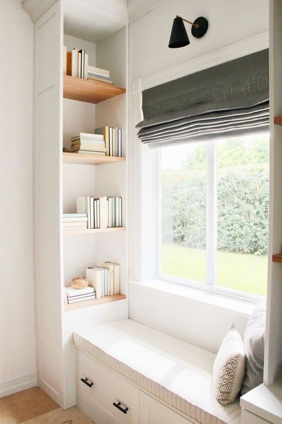 roman shades Contemporary window covering ideas to make your home more cosy
