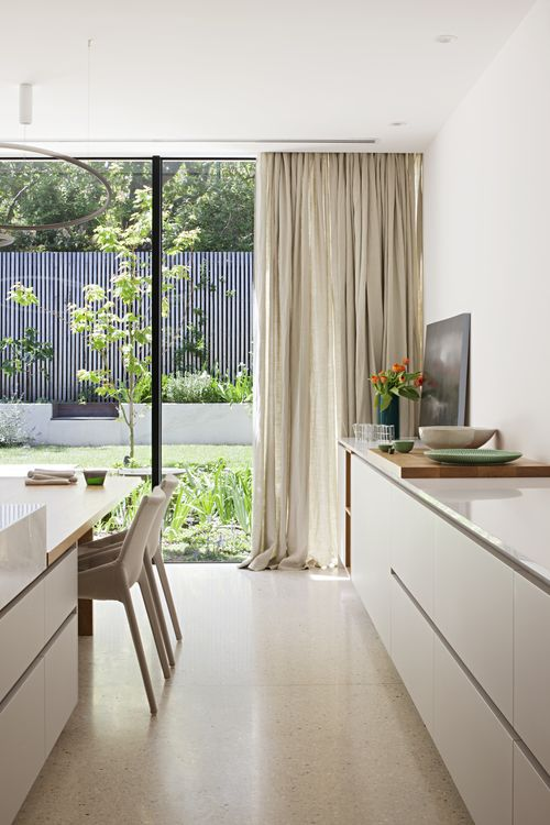 minimalist curtains Security Meets Design: 5 Ways to Thwart Thieves With Home Decor