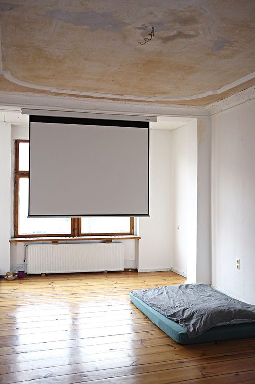 minimalist home movie theater How to Create a Home Theatre on a Budget