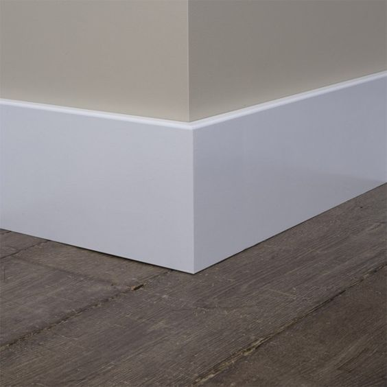 modern baseboards molding Main differences between MDF and Oak Skirting Boards