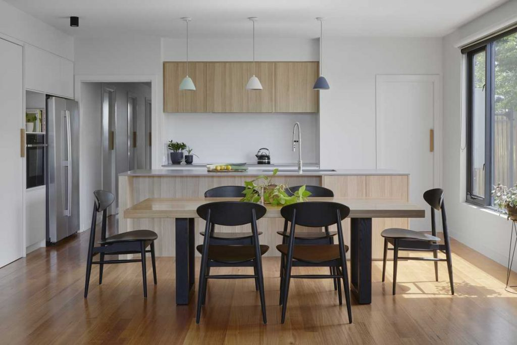%name Suburban townhouse by Inbetween Architecture