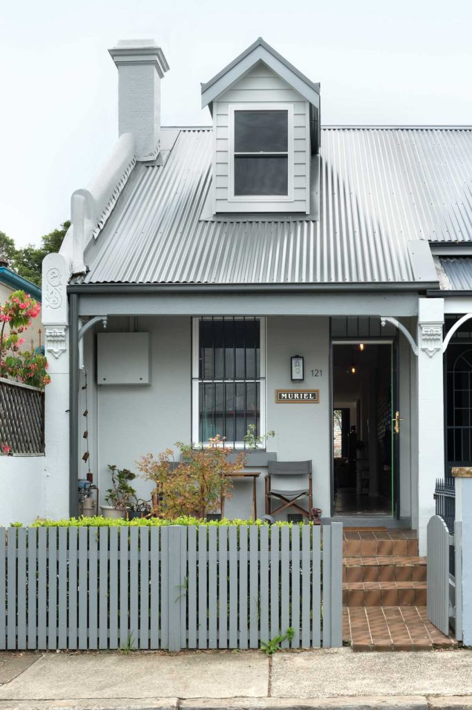 %name Renovation of a single story dwelling in inner city Newtown