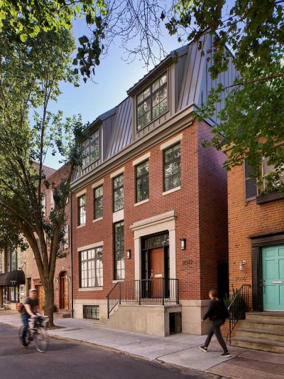 Rittenhouse House in Philadelphia by Terra Studio, LLC