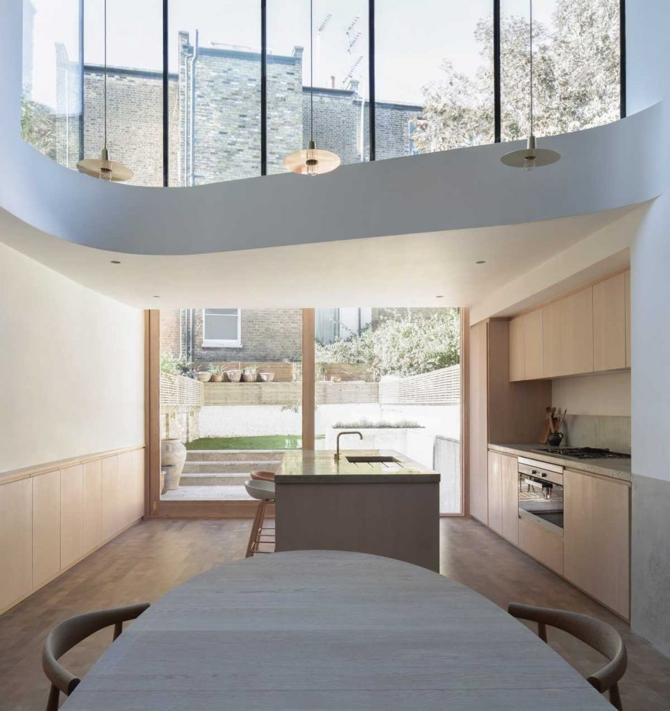 %name A mid terrace Victorian house reconfiguration to a dramatic vertical space
