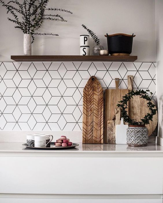geometric tiles pattern Ride the Geometric Wave: The Latest Home Design Trend